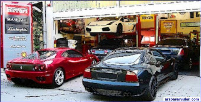 Gt Servis Service Istanbul Ferrari Maserati Lamborghini Aston