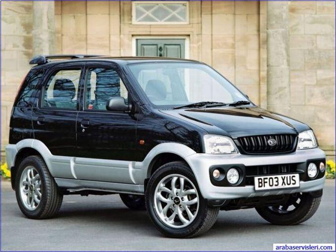 Daihatsu Terios относят к миниавтомобилям класса SUV. Помимо него, компания выпускает еще и Daihatsu Trevis.
